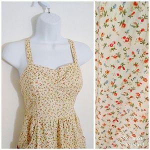 Cute Floral Babydoll Dress